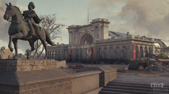 外服《坦克世界》进行1.91更新:推出柏林地图