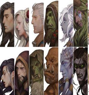 真爱粉检测 艾泽拉斯英雄群像能认出几个