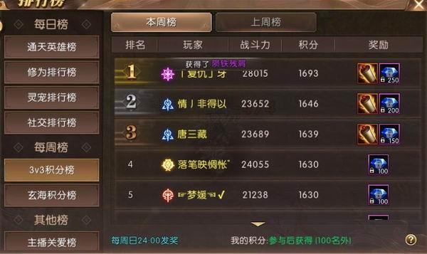 轩辕 战力排行榜_轩辕传奇 战力排行榜 排行榜详解来袭