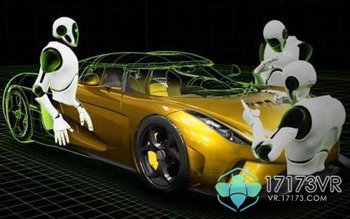 nvidia发布vr全息甲板: 现场演示如何造超跑