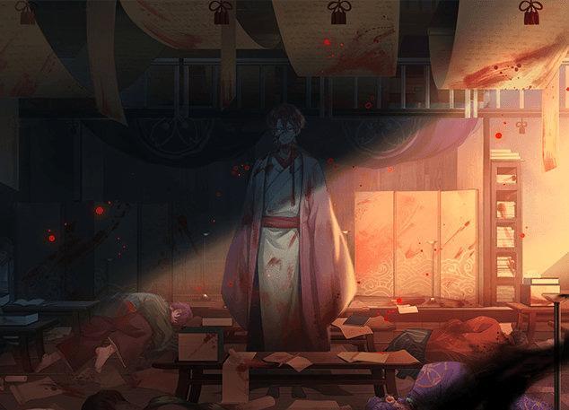 阴阳师SSR鬼童丸传记及绘卷详解 被大阴阳师贺茂收养的修罗之子