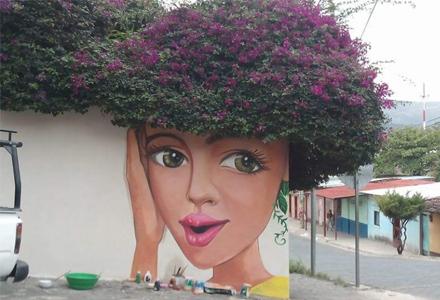 26个完全吸住你眼球的旷世街头艺术 街道上的艺术画廊