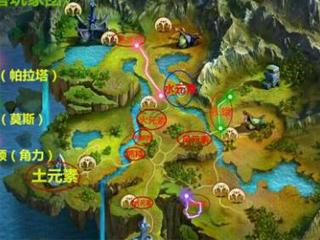 光明大陆野怪分布及boss路径图详解攻略