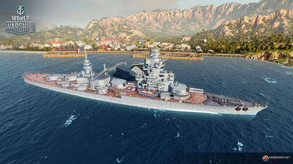 战舰世界 法系7级战列舰LYON数据抢先看