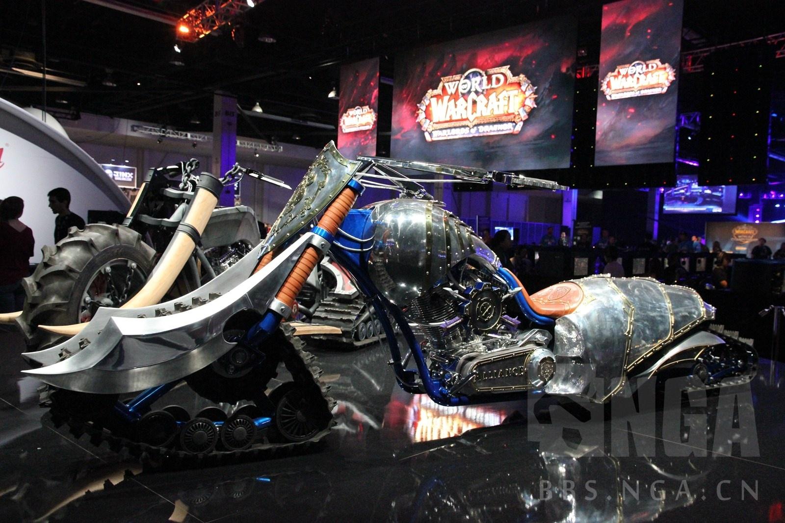 大神手工打造联盟摩托车勇士的践踏之刃模型