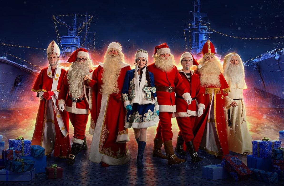 圣诞老人这时候来袭?开箱子出新船!