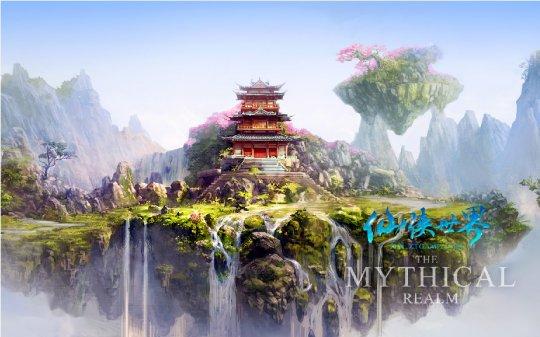 《仙侠世界》下午2点开启花影公测 抢先注册即送十五星套