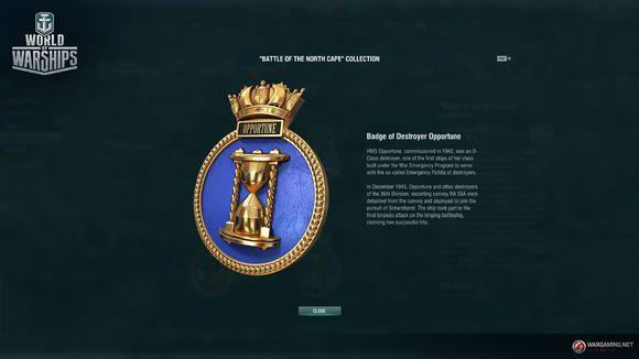 战舰世界0615版本全新战役与收藏