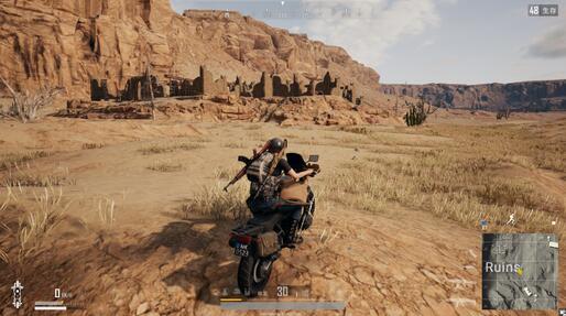 暴力摩托!蛇皮骑法带你体验吃鸡新世界