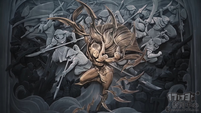 艾欧尼亚的荣耀! 《英雄联盟》官方公布新版刀妹原画