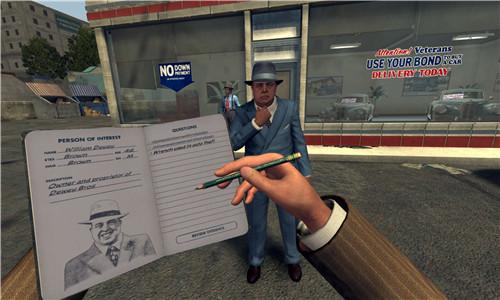 黑色洛城VR试玩