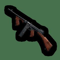 绝地求生大逃杀冲锋枪TOMMY GUN介绍 武器TOMMY GUN评测