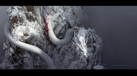 国产游戏大作《黑神话:悟空》早期概念图公开!