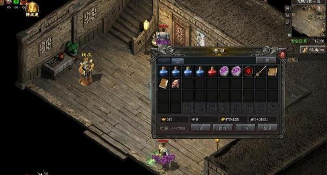 热血传奇:游戏中的打宝圣地,日产出绝对超乎你的想象