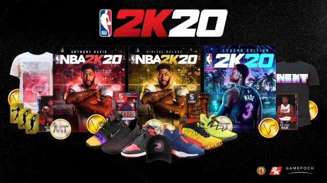 《NBA 2K20》国行PS4版售价公布 分别为299元、399元、499元