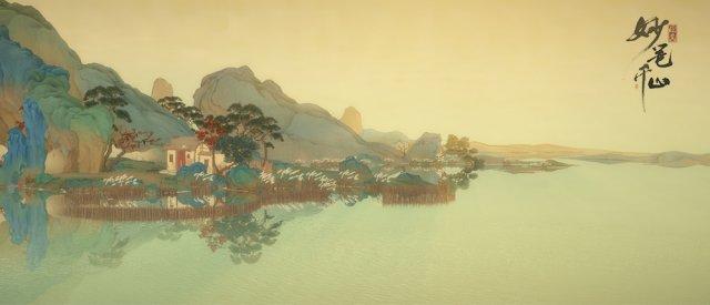 图7:游戏截图:烟雨蒙蒙,水畔人家.jpg