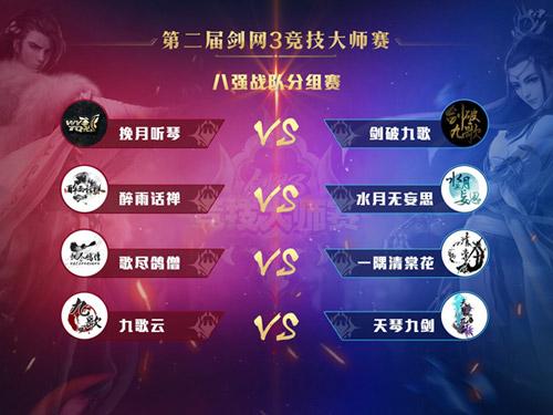 大师赛线下赛决战明日开启 问鼎九州 《剑网3》