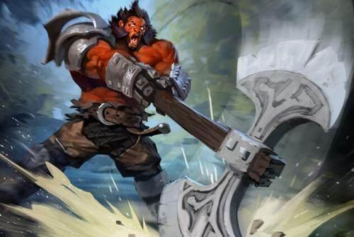 DOTA2:面对可以一个打五个近战的斧王,有什么方法克制他