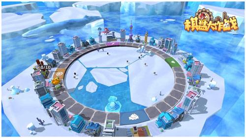 """图7:能在浮动的冰川上生存的才是""""纯爷们儿""""(或许).jpg"""