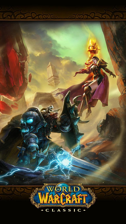 魔兽世界画作经典怀旧服 征战希利苏斯一览