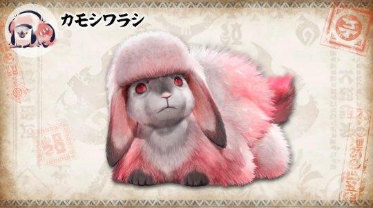 """《怪物猎人:崛起》新企划""""环境生物百科全书"""" 首次介绍萌物酵母兔"""