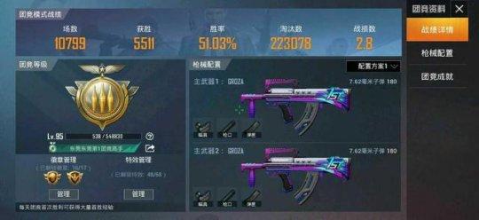 玩家耗时半年 凭1把武器团竞镌汰22.3W人抵达100级
