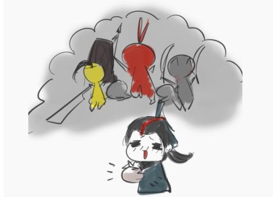 剑网3搞事服趣味漫画