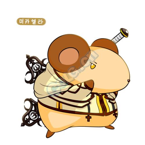 dnf韩国玩家精心制作的十三鼠徒 dnf同人美图