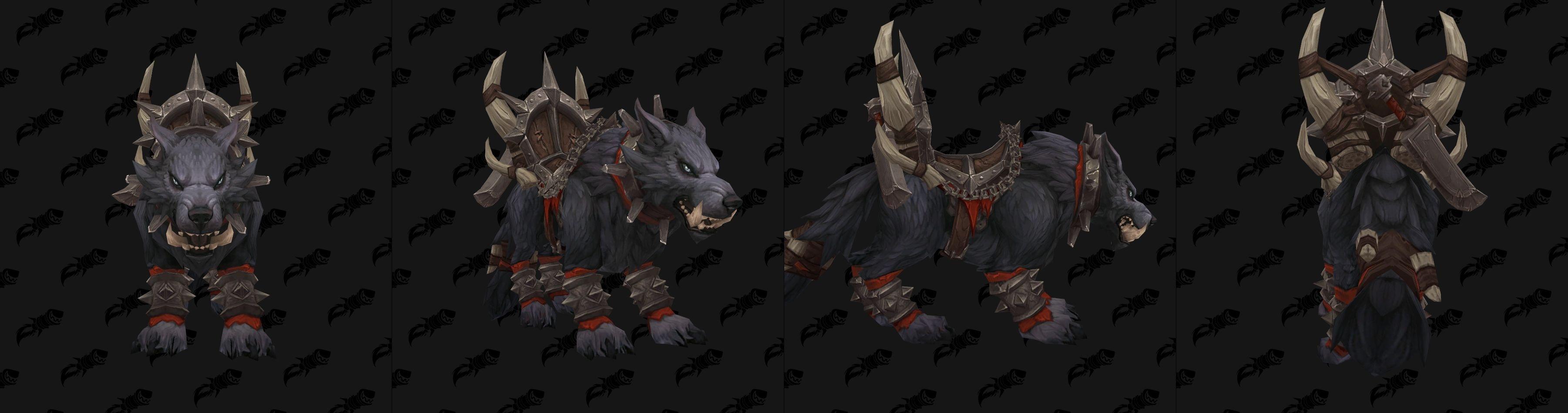 PTR8.0:新增兽人氏族坐骑 或为同盟种族