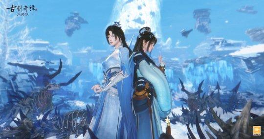 《古剑奇谭网络版》参选2021年度中国游戏十强