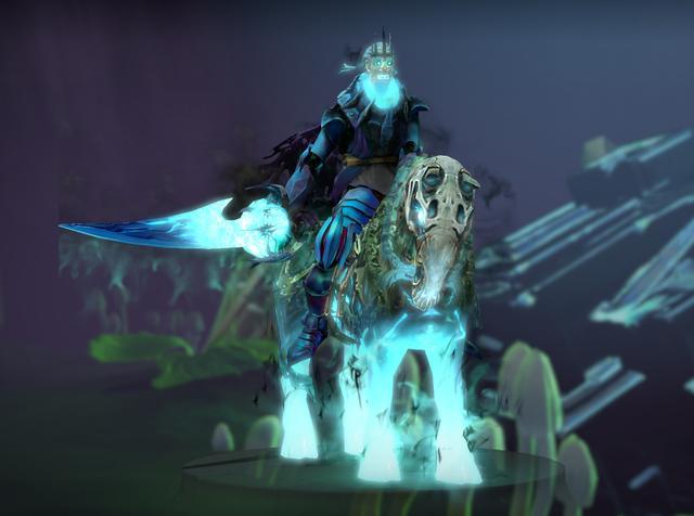 DOTA2英雄汇,雾霭中的骑士――亚巴顿