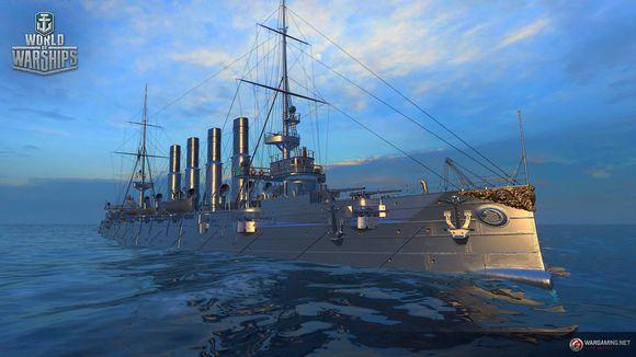 战舰世界超测新船饿系巡洋瓦良格号