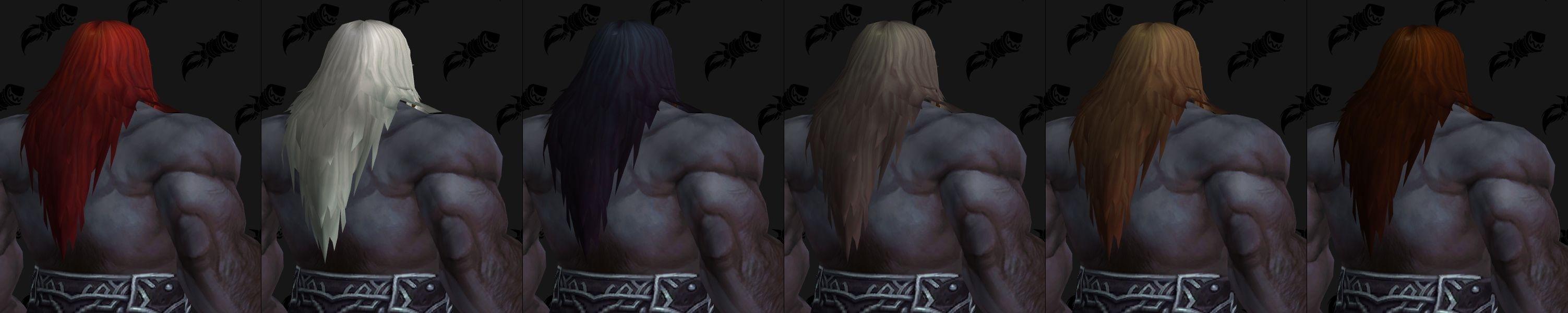 新增同盟种族 黑铁矮人角色定制选项预览