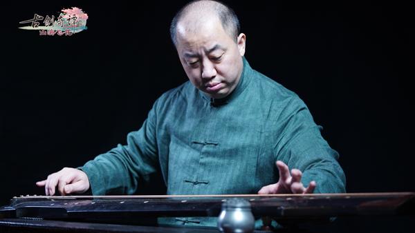 """图004茅毅先生用古琴""""松雪""""弹奏音笑.jpg"""