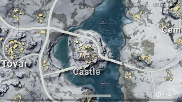 绝地求生大逃杀 城堡跳伞位置及打法图文心得
