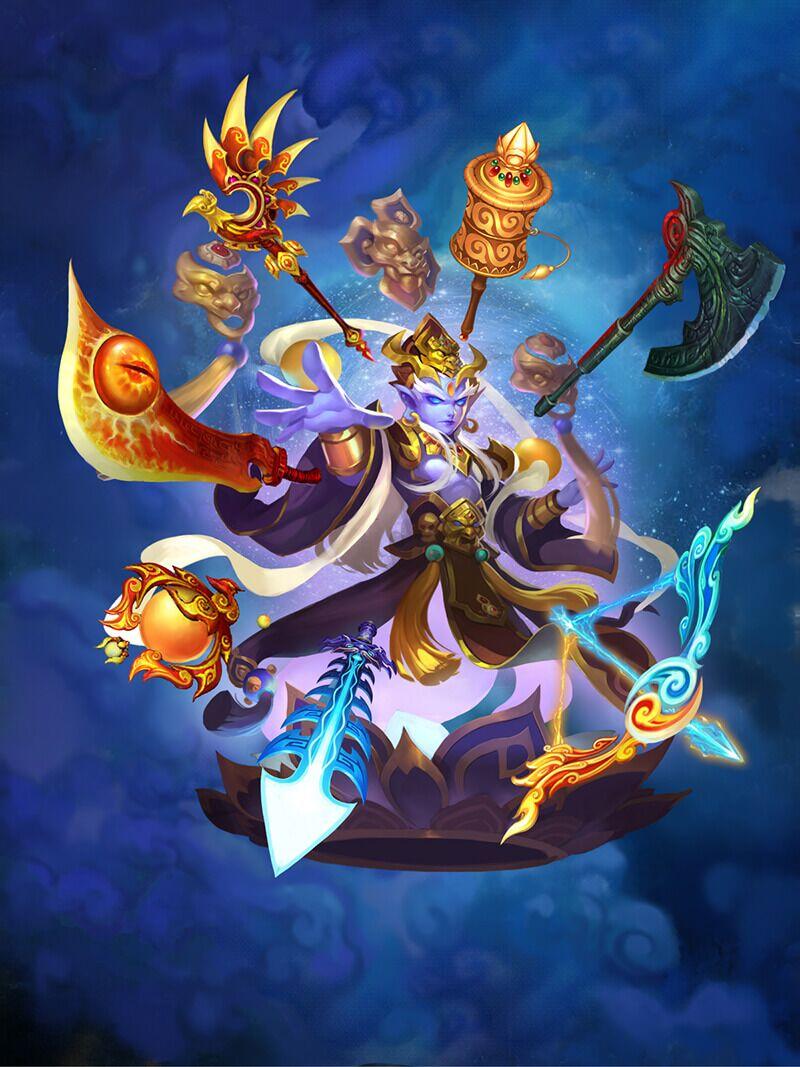 难度不亚于蚩尤,梦幻西游服战队挑战轮回秘境自在天魔图片