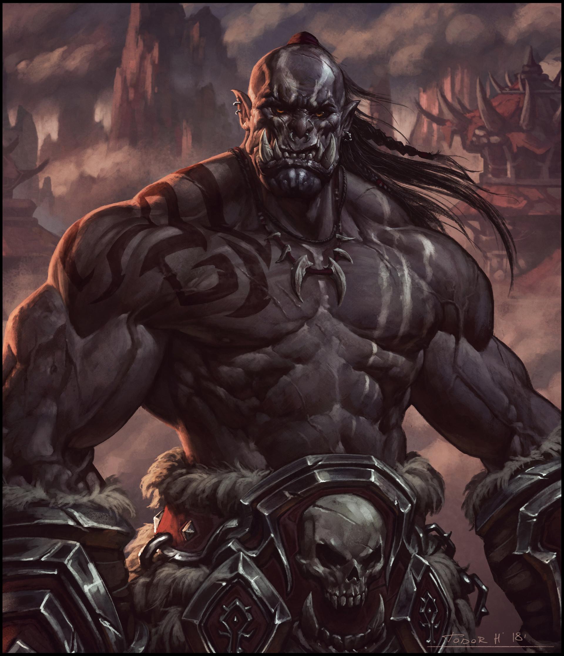 重返德拉诺 来自异世界的玛格汉兽人