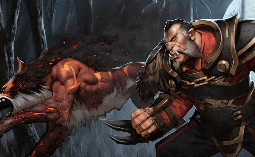 DOTA2:血月下的弑君猎人 制霸路人的暴击流狼人教学