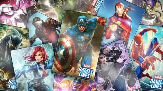 漫威英雄总动员 策略卡牌游戏《漫威战线》试玩-迷你酷-MINICOLL