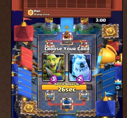 双倍圣水选卡挑战卡牌选择小技巧