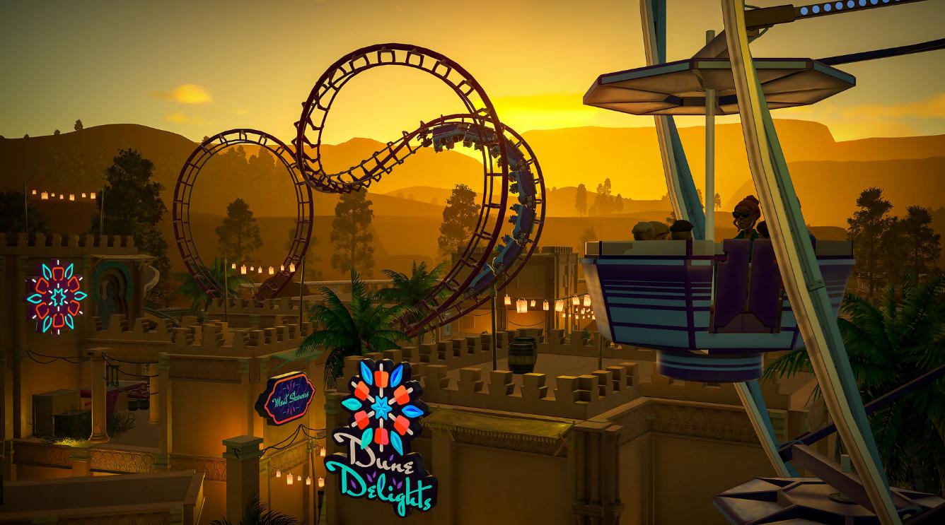 《过山车之星》全新DLC正式发售 包含中国风主题公园
