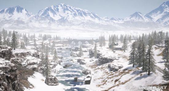 绝地求生在北极光下吃鸡?雪地图极光系统即将上线!