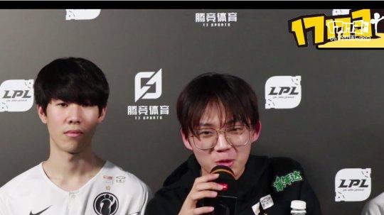 LOL:两战全胜!赛后采访iG全员,Rookie:春节安排是打游戏