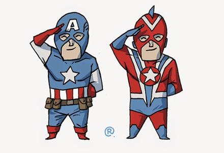 """漫威和DC非常相似的27个""""双胞胎""""超级英雄 有几个真的太像了!"""