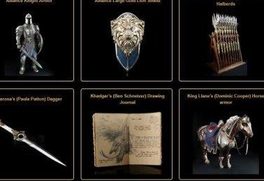魔兽电影道具被拍卖