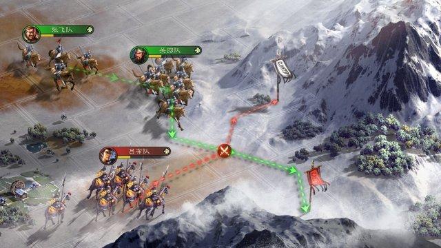 图3:模拟真实行军,根据战略需要迂回前行.jpg
