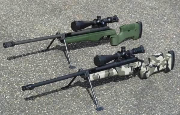 浅谈几把栓动狙击枪:M24与AWM对比