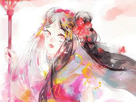 剑网三插画分享 一组萌萌哒的校服萝莉