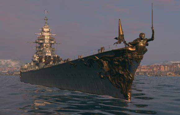 战舰世界0.7.2外服新消息新涂装