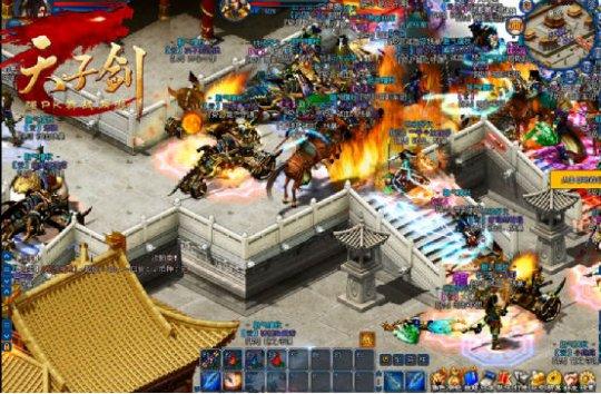 《天子剑》8月25日新服开战 全新篇章